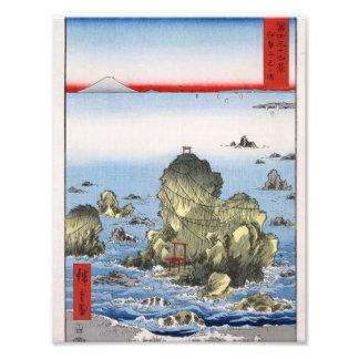 Futamigaura in Ise Province Photo Print
