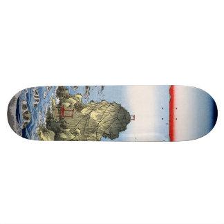 Futamigaura in Ise Province Skateboard Deck