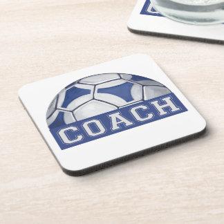 Futbal Coach Drink Coaster
