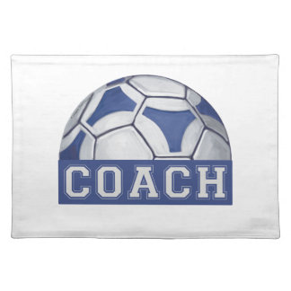 Futbal Coach Placemat