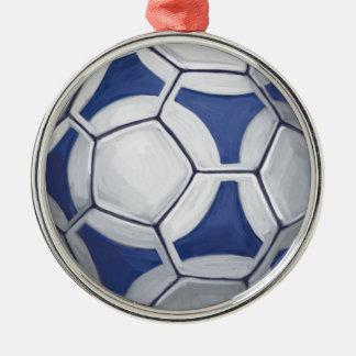 Futbal Metal Ornament