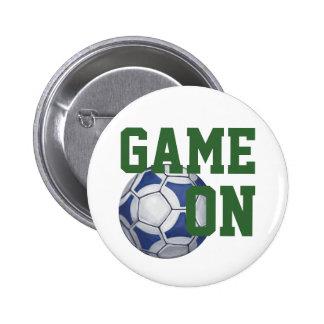 Futbal Pinback Button