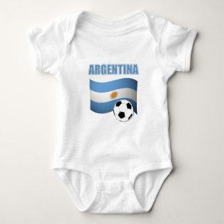 Fútbol 1139 de la Argentina Body Para Bebé