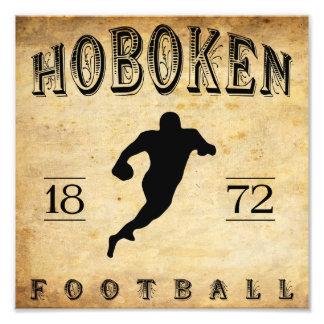 Fútbol 1872 de Hoboken New Jersey Impresiones Fotograficas
