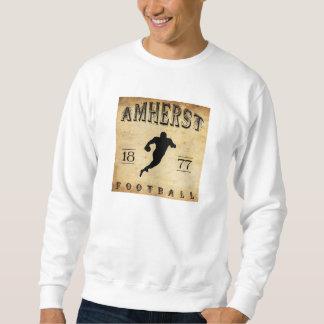 Fútbol 1877 de Amherst Massachusetts Sudadera