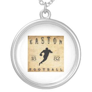 Fútbol 1882 de Easton Pennsylvania Pendientes Personalizados