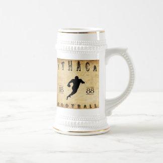Fútbol 1888 de Ithaca Nueva York Taza