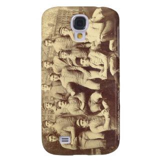 Fútbol 1888 de UMass Funda Para Galaxy S4