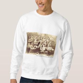 Fútbol 1888 de UMass Sudadera Con Capucha