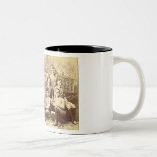 Fútbol 1888 de UMass Tazas De Café