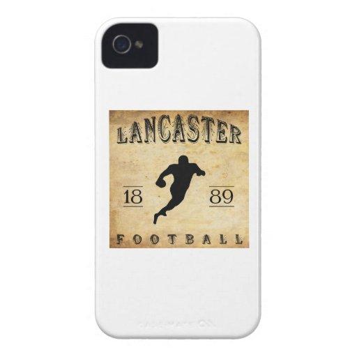 Fútbol 1889 de Lancaster Pennsylvania iPhone 4 Funda