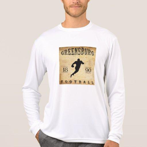 Fútbol 1890 de Greensburg Pennsylvania Camiseta