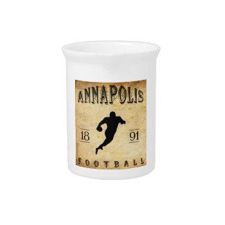 Fútbol 1891 de Annapolis Maryland Jarras