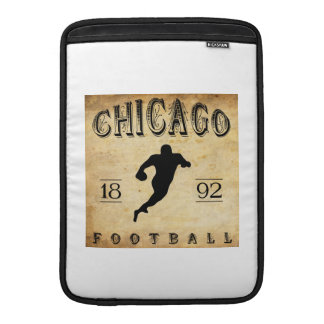 Fútbol 1892 de Chicago Illinois Fundas Para Macbook Air