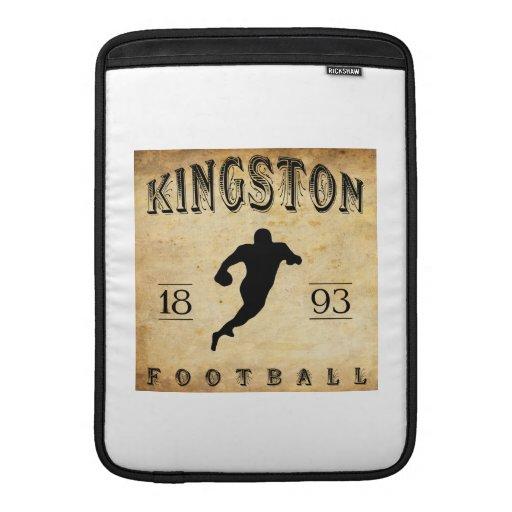 Fútbol 1893 de Kingston Ontario Canadá Funda Macbook Air