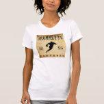 Fútbol 1894 de Jeannette Pennsylvania Camiseta