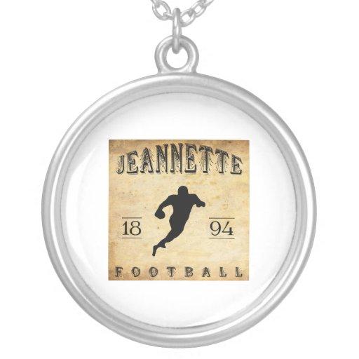 Fútbol 1894 de Jeannette Pennsylvania Joyeria