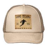 Fútbol 1894 de Long Island Nueva York Gorro De Camionero