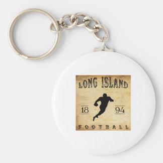 Fútbol 1894 de Long Island Nueva York Llavero