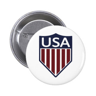 Fútbol 1950 de los E.E.U.U. Pin Redondo 5 Cm