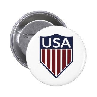 Fútbol 1950 de los E.E.U.U. Pin Redondo De 2 Pulgadas