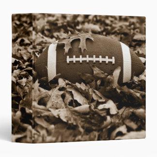 """Fútbol 1,5"""" de la sepia álbum de foto carpeta 1 1/2"""""""