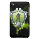 Fútbol 1 caja de la mota iPod Case-Mate coberturas