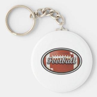 Fútbol 1 llavero redondo tipo pin