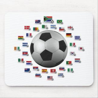 Fútbol 2010 alfombrillas de ratones