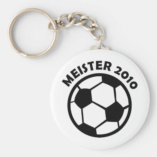 Fútbol 2010 de Meister Fußball Meister Llaveros Personalizados
