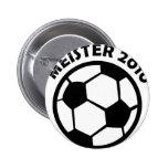 Fútbol 2010 de Meister Fußball Meister Pin
