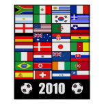 Fútbol 2010 del mundial posters