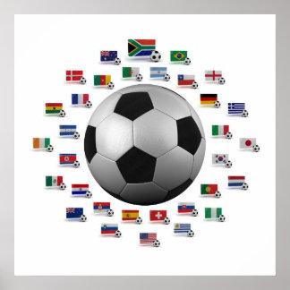 Fútbol 2010 póster