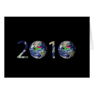 FÚTBOL 2010 TARJETA DE FELICITACIÓN