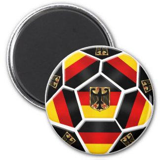 Fútbol 2012 del euro del mundial 2014 de Alemania Imán Redondo 5 Cm
