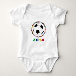 Fútbol 2014 5509 body para bebé