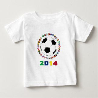 Fútbol 2014 5509 playera de bebé