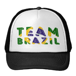 Fútbol 2014 del Brasil Gorros Bordados