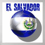 Fútbol 2014 del mundial de El Salvador Cuscatlecos Posters