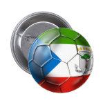 Fútbol 2014 del mundo de la Guinea Ecuatorial el B Pins