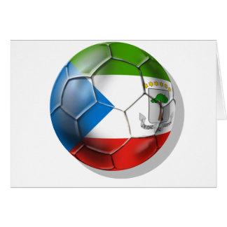 Fútbol 2014 del mundo de la Guinea Ecuatorial el B Tarjetón