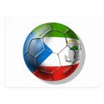 Fútbol 2014 del mundo de la Guinea Ecuatorial el B Postales