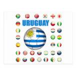 Fútbol 2213 de Uruguay Postal