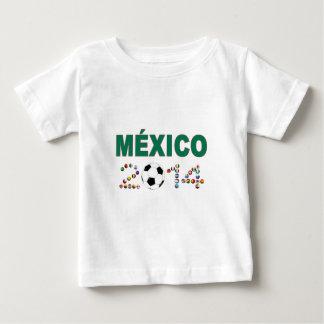 Fútbol 2340 de México Playeras
