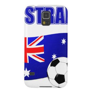 Fútbol 2442 de Australia Carcasa De Galaxy S5