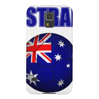 Fútbol 2841 de Australia Carcasas De Galaxy S5