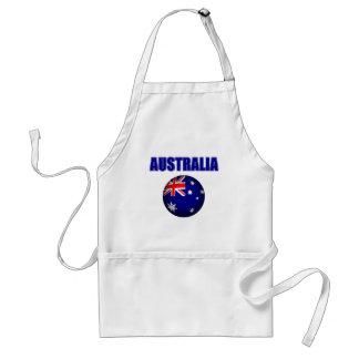 Fútbol 2841 de Australia Delantal