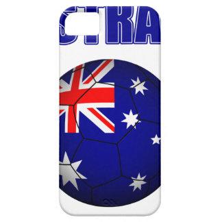 Fútbol 2841 de Australia iPhone 5 Carcasas