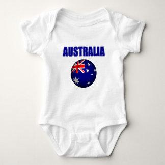 Fútbol 2841 de Australia Mameluco De Bebé