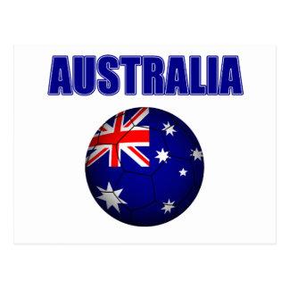 Fútbol 2841 de Australia Tarjeta Postal